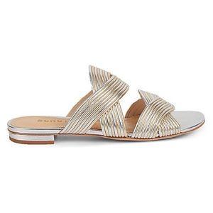 SCHUTZ Cassiane Leather Sandals